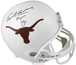 Earl Campbell Autographed Texas Longhorns Full Size Helmet Inscribed HT 77