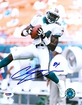 Chris Chambers Autographed Miami Dolphins 8x10 Photo