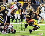 Mark Ingram Autographed New Orleans Saints vs. Texans 16x20 Photo