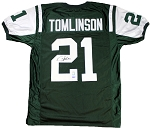 LaDainian Tomlinson Autographed New York Jets Jersey