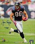 James Casey Autographed Houston Texans 8x10 Photo Inscribed Thor