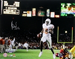 Vince Young Autographed Texas Longhorns 16x20 Photo
