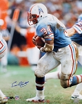 Earl Campbell Autographed Houston Oilers 16x20 Photo