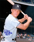 Ron Blomberg Autographed New York Yankees 8x10 Photo - 1st AL DH 4/6/73