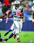 LaDainian Tomlinson Autographed New York Jets Pink Gloves 16x20 Photo