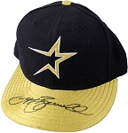 Jeff Bagwell Autographed Houston Astros Player Worn Cap
