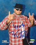 Konnan Autographed WCW Wrestling 8x10 Photo