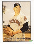 Cal McLish Full Name Autographed Cleveland Indians 8x10 Photo Inscribed