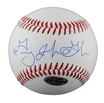 Greg Golson Autographed Minor League Baseball Full Name Signature