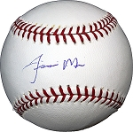 Jiovanni Mier Autographed Major League Baseball