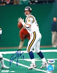Brad Johnson Autographed Minnesota Vikings in Pocket 8x10 Photo