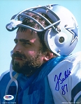 Jay Saldi Autographed Dallas Cowboys 8x10 Photo
