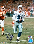 Patrick Jeffers Autographed Dallas Cowboys vs. Chiefs 8x10 Photo