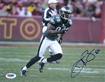 Reggie Brown Autographed Philadelphia Eagles 8x10 Photo