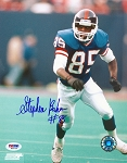 Stephen Baker Autographed New York Giants 8x10 Photo