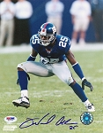 Will Allen Autographed New York Giants 8x10 Photo