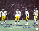 Steel Curtain Autographed Pittsburgh Steelers 11x14 Photo PSA/DNA