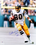 Kellen Winslow Autographed San Diego Chargers 16x20 Photo Inscribed HOF 95