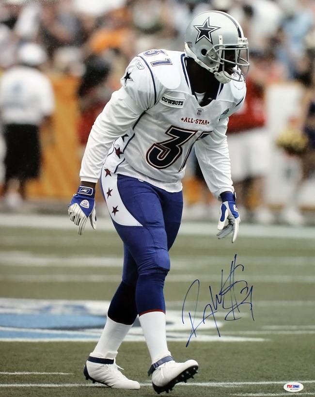 Roy Williams Dallas Cowboys Autographed Pro Bowl 16x20 Photo