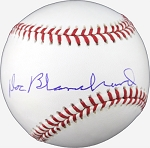 Doc Blanchard Autographed Major League Baseball