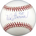 Ned Garver Autographed American League Baseball