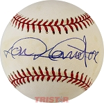 Don Demeter Autographed National League Baseball