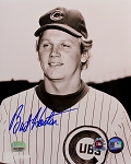 Burt Hooton Autographed Chicago Cubs 8x10 Photo