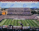 Texas A&M Aggies Autographed Commemorative 16x20 Photo - 10 Signatures