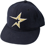 Mike Hampton Autographed Houston Astros Player Worn Cap