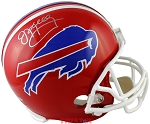 Jim Kelly Autographed Buffalo Bills Full Size Replica Helmet