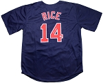 Jim Rice Autographed Boston Red Sox Road Jersey