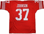 Jimmy Johnson Autographed San Francisco 49ers Jersey
