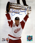 Brett Hull Autographed Detroit Redwings 8x10 Photo