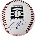 Craig Biggio Autographed Hall of Fame Logo Baseball