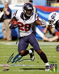 Alfred Blue Autographed Houston Texans 8x10 Photo
