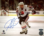 Jeremy Roenick Autographed Chicago Blackhawks 8x10 Photo