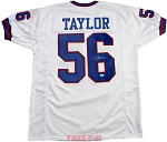 Lawrence Taylor Autographed New York Giants Custom Jersey