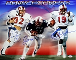 Pony Express Autographed SMU Mustangs 16x20 Photo - Dickerson & 2 More