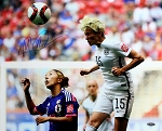 Megan Rapinoe Autographed USA 2015 World Cup 16x20 Photo