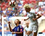 Megan Rapinoe Autographed USA 2015 World Cup 8x10 Photo