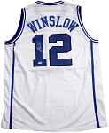 Justise Winslow Autographed Duke Jersey