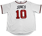 Chipper Jones Autographed Atlanta Braves Replica Jersey