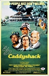 Chevy Chase Autographed Caddyshack 11x17 Mini Movie Poster