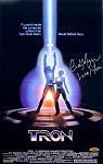 Cindy Morgan Autographed TRON 11x17 Mini Movie Poster