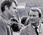 Tom Osborne & Barry Switzer Autographed 16x20 Photo