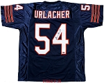 Brian Urlacher Autographed Chicago Bears Custom Jersey