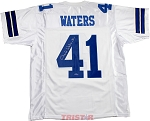 Charlie Waters Autographed Dallas Cowboys Custom Jersey