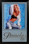Pamela Anderson Autographed 16x20 Photo Framed