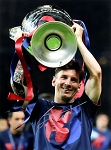 Lionel Messi Autographed Barcelona 12x16 Photo