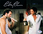 Chevy Chase Autographed Caddyshack Smoking w/Bill Murry 8x10 Photo